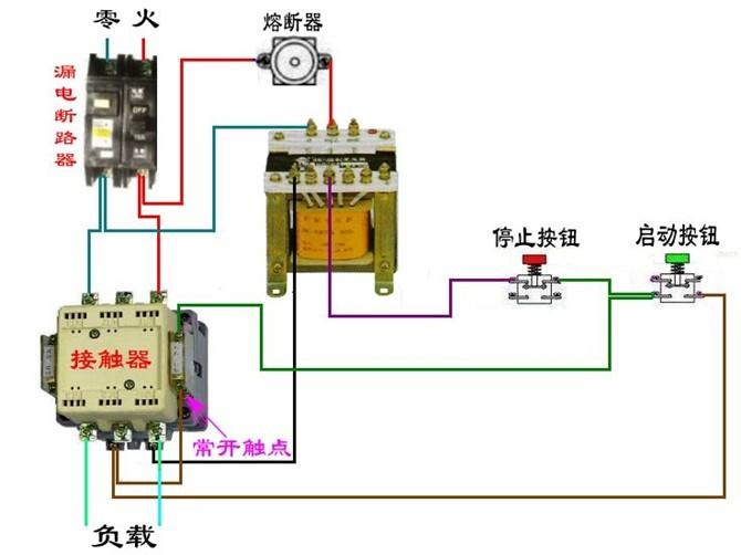 69 电路图分享 69 11种断路器,接触器电气控制回路接线图