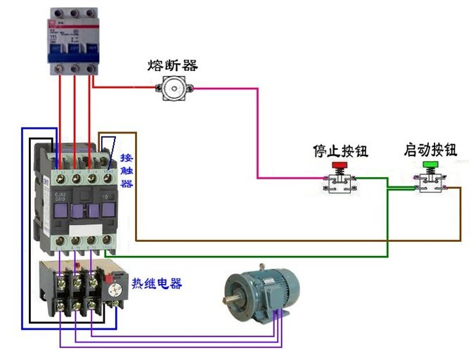 54种电动机电气控制电路接线图 - 电路图分享 电工论坛