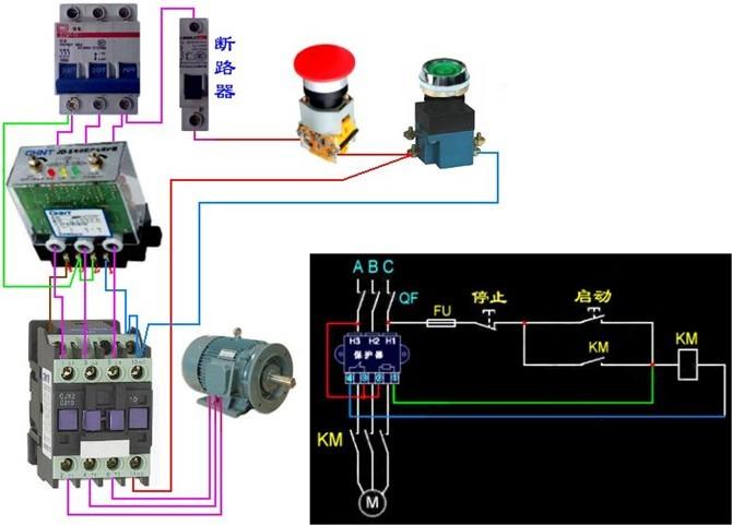 54种电动机电气控制电路接线图