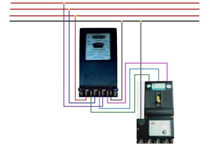 单相电能表接线图_互感器电能表接线图_三相电能表接线图