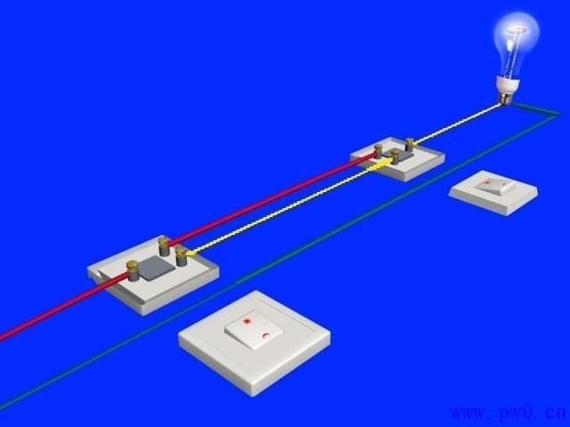 双控开关的接线方法