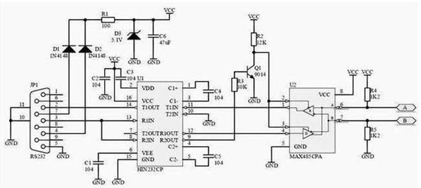 rda1846s对讲机电路