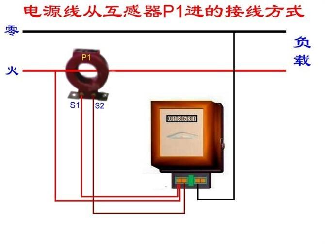 单相及三相四线电能表互感器接线图 - 电路图分享