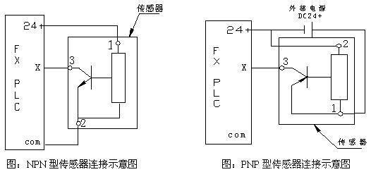 npn和pnp接近開關和plc接線 - 電路圖分享 電工論壇