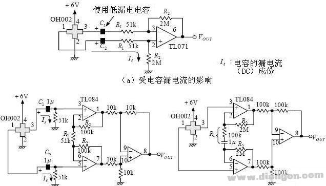 霍尔传感器放大电路图