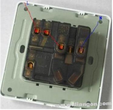 插座接线图_ 三孔插座接线图_五孔插座接线图_网络插座接线图