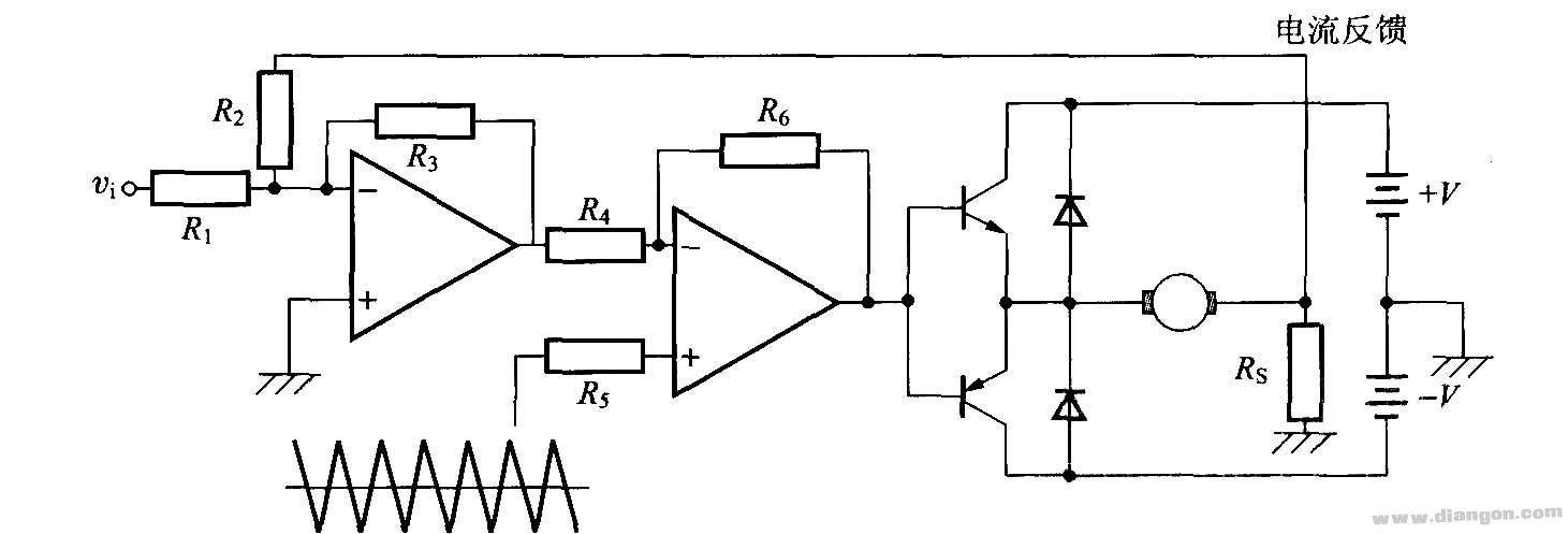 pwm电流控制方式电路图