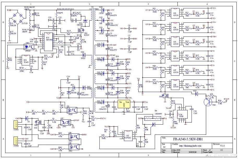 5变频器图纸