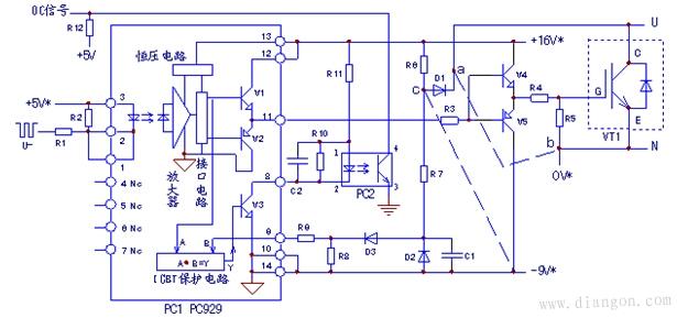 如何屏蔽igbt保护电路的故障报警信号