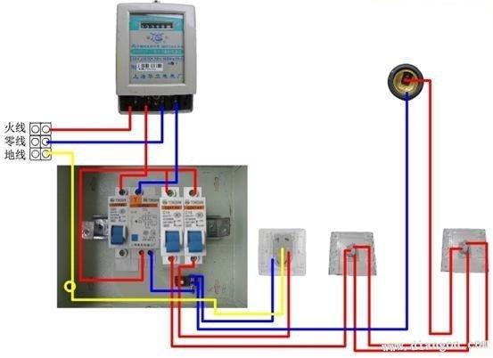 家庭电路安装图