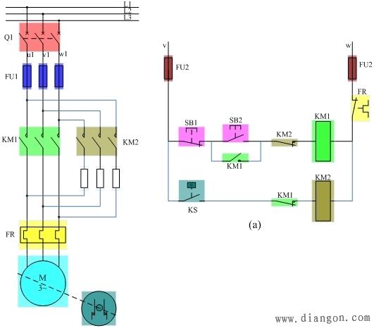 能耗制动的工作原理_图7 能耗制动原理图