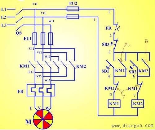 电机自锁电路图 电路图分享 电工论坛图片