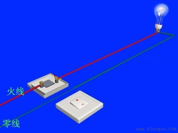 家用单控开关接线_家用三控开关接线_家用双控开关接线_家用开关接线
