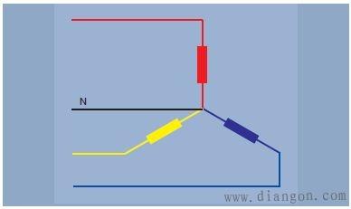 三相电原理和接线图解