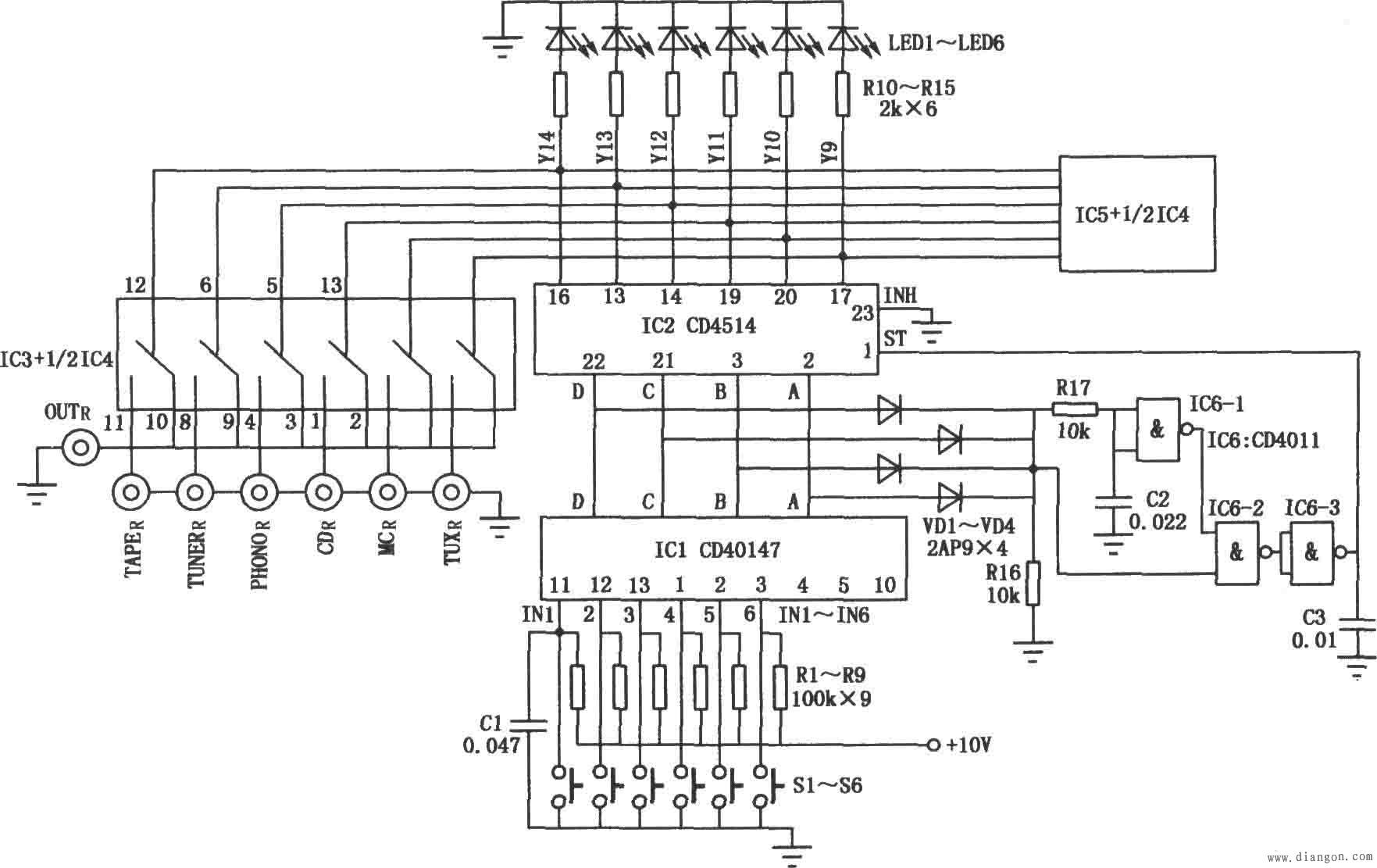 双电源自动切换开关工作原理接线图