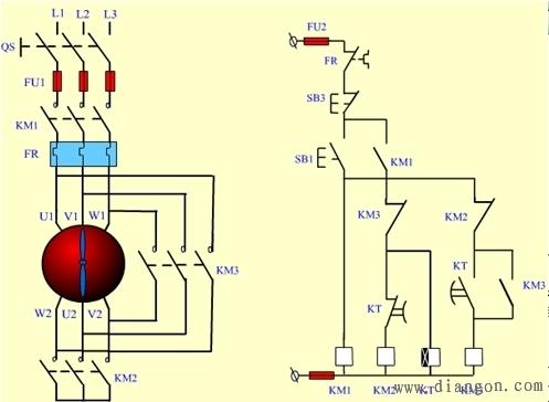 三相绕线式异步电动机启动控制