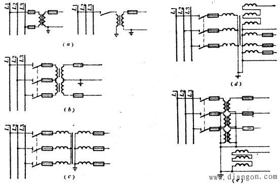 电压互感器的接线方式图片
