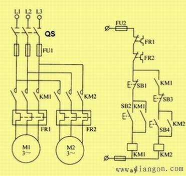 电工论坛 69 电工技术交流 69 电路图分享 69 电动机顺序控制的