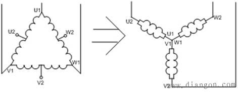 双速电动机控制电路图