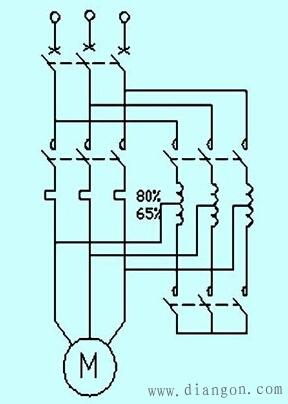 自耦变压器降压启动原理图 - 电路图分享 电工论坛