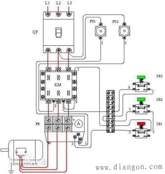 交流接触器自锁与互锁 - 电工基础知识 电工论坛