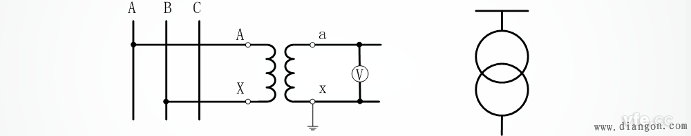 电压互感器怎么接线