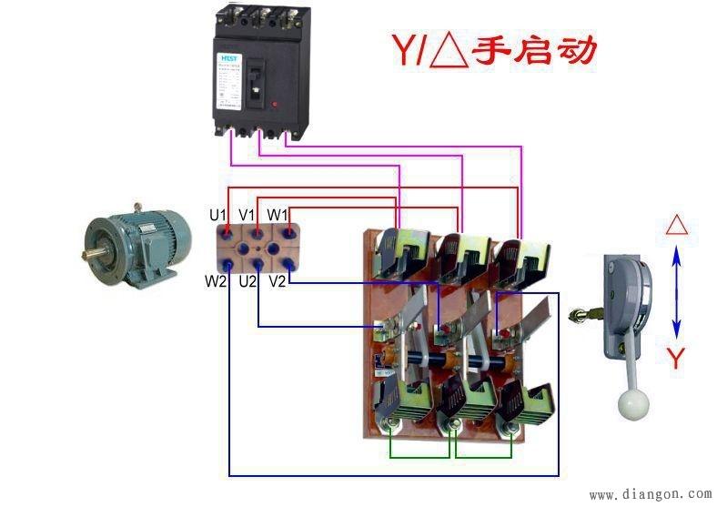 交流接触器原理及接线方法