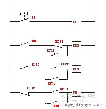 中间继电器接线图及工作原理