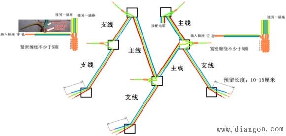 插座接线方法图解