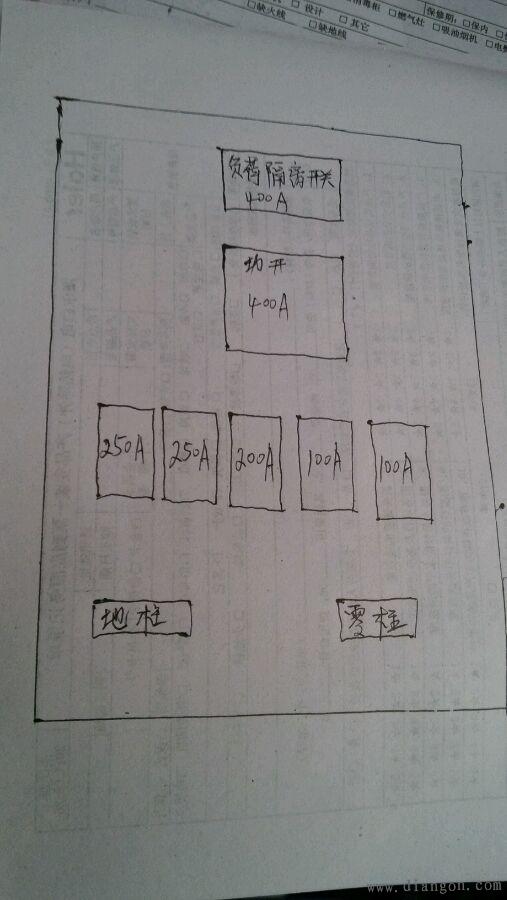69 电路图分享 69 工地二级配电箱电路图    适用建筑工地施工用
