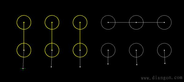 69 电路图分享 69 电动机星形接法实物图    前一个是三角形 ,后