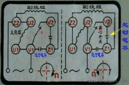 220v电机正反转接线图 - 电路图分享 电工论坛