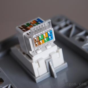 西门子网口插座接线图_网络插座面板接线图解