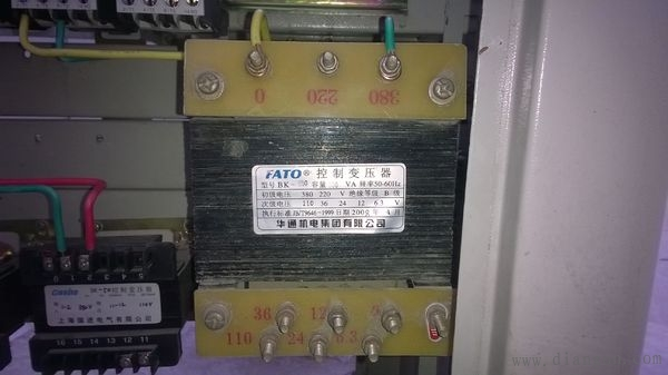 控制变压器接线图