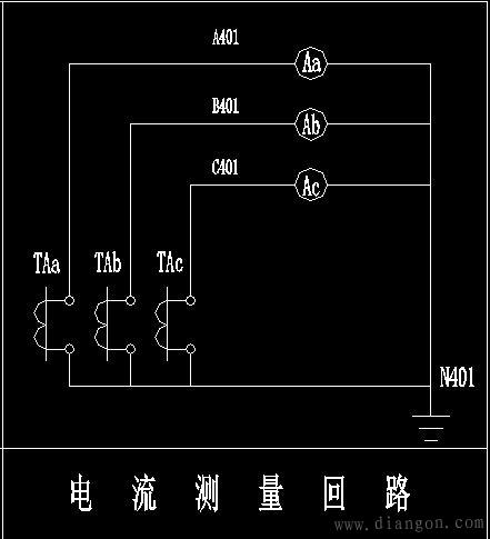 电柜电流表怎么接线 - 电路图分享_电工学习网