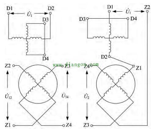 旋转变压器结构特点