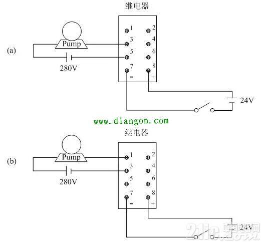 继电器的接线方法图解 - 电工基础知识 电工论坛