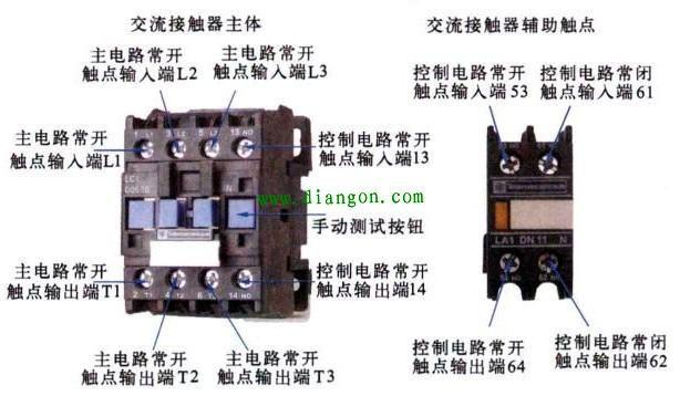 电路实物布控标示图