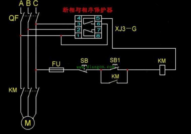 集三相电压显示,过电压保护,欠电压保护,缺相保护(断相保护),电压不