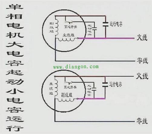 3kw三相异步电动机改单相电机步骤和接线方法图解
