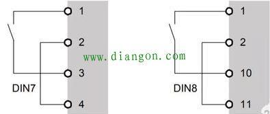 水泵压力表上三根线和变频器怎么接线?