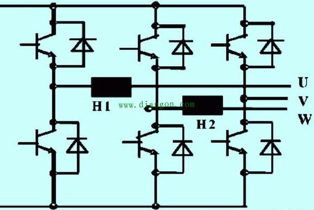 艾默生变频器操作面板显示故障代码e019维修实例