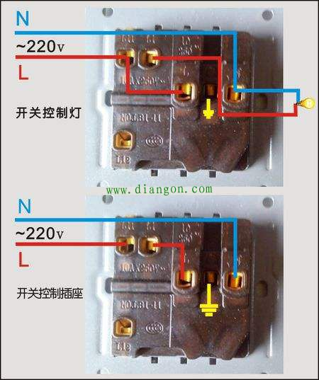 五孔插座怎么接线?五孔插座接线图解