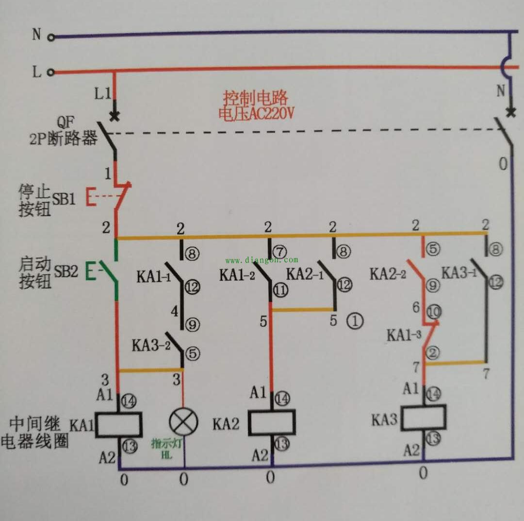马克前级电路图