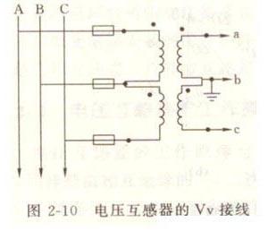 电压互感器接线图图片