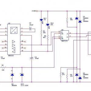 西门子S7-200编程电缆原理图