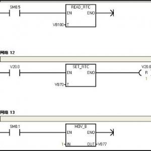 西门子S7-200PLC与触摸屏进行通讯时间问题解决方法