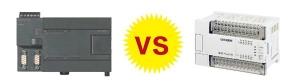 西门子PLC与三菱PLC的区别