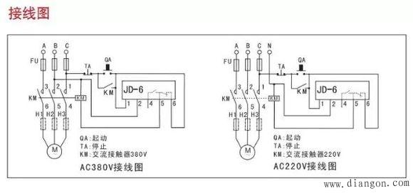 jd-6相序保护器接线图