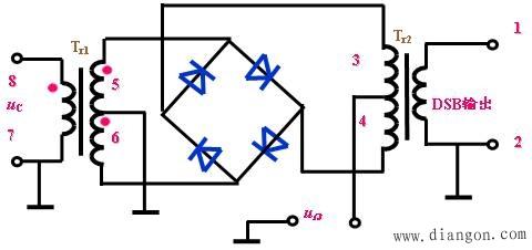 二极管混频电路
